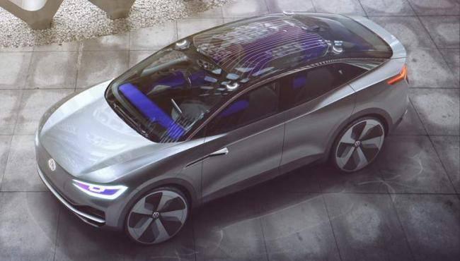 Volkswagen ID Crozz Crossover Concept Debuts at Auto Shanghai 2017