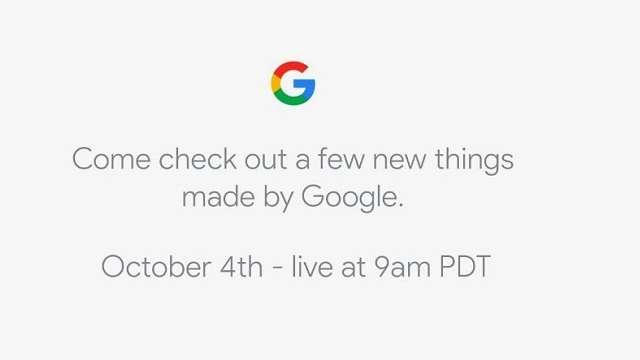 Google Google Pixel Pixel 2 smartphones Google Pixel 2 launch Google Pixel 2 live blog Google Pixel 2 live stream Google P