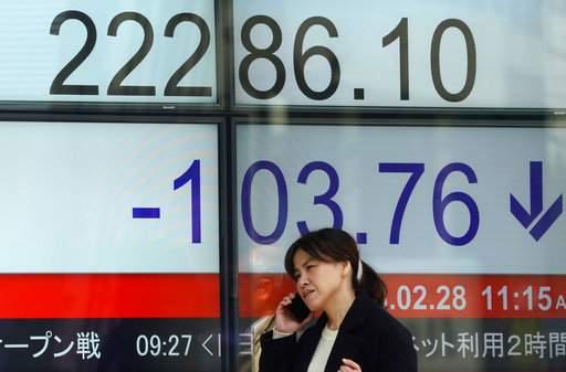European shares fall amid US Fed chair's hawkish comments