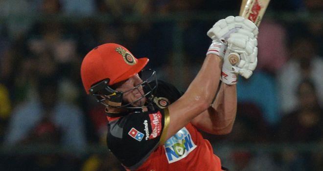 AB de Villiers fired another fabulous IPL fifty for Royal Challengers Bangalore