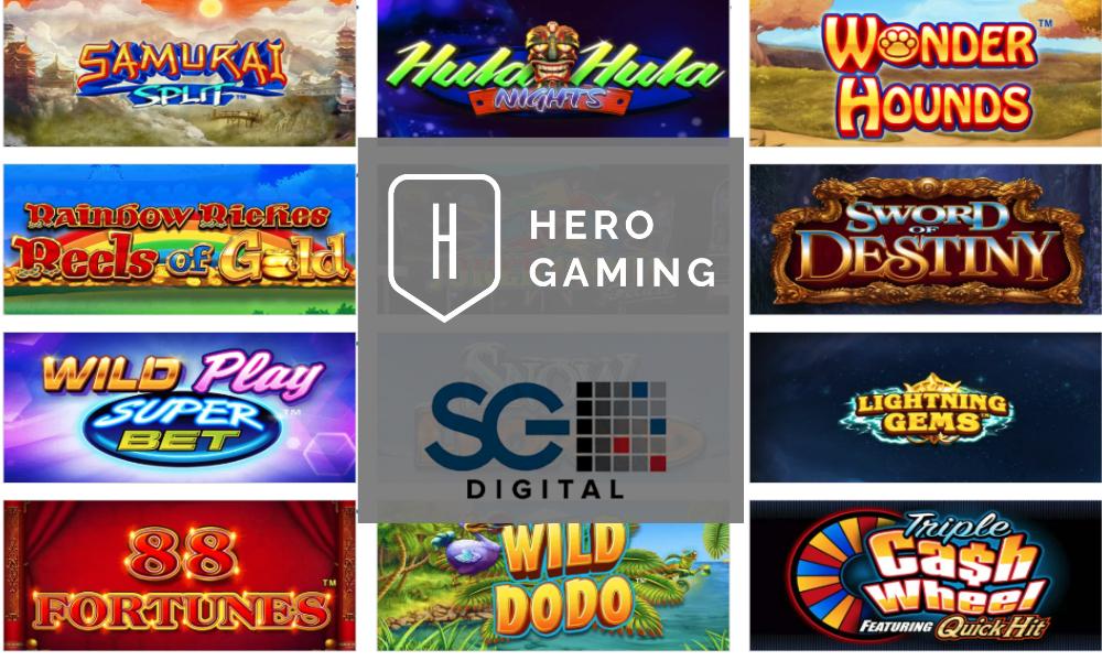 Hero Gaming Begins Offering Top Tier SG Digital Games